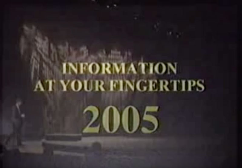 Information at Your Fingertips 2005 Keynote by Microsoft CEO Bill Gates.