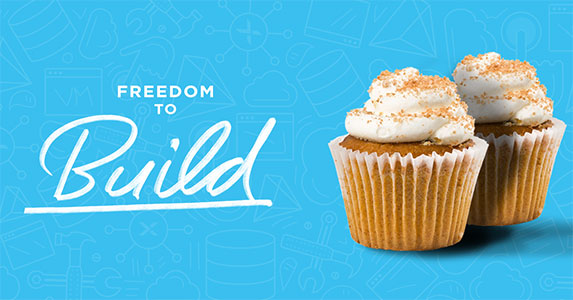 Freedom to Build - Cupcakes