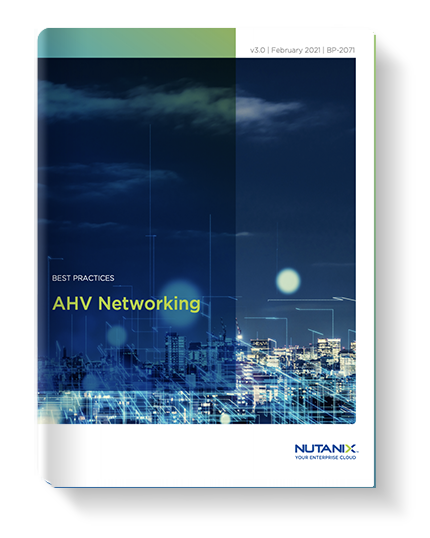 AHV Networking