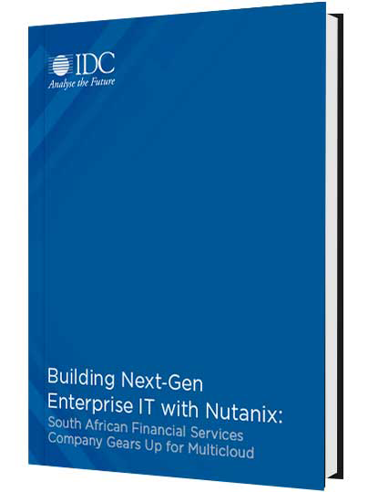 Building Next-Gen Enterprise IT with Nutanix