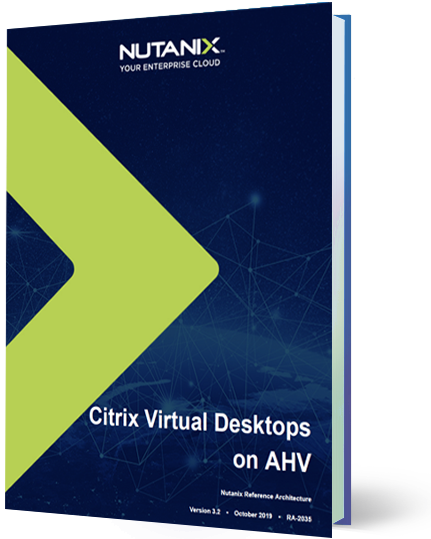 Nutanix AHV 기반 Citrix XenDesktop
