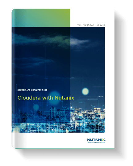 Cloudera with Nutanix