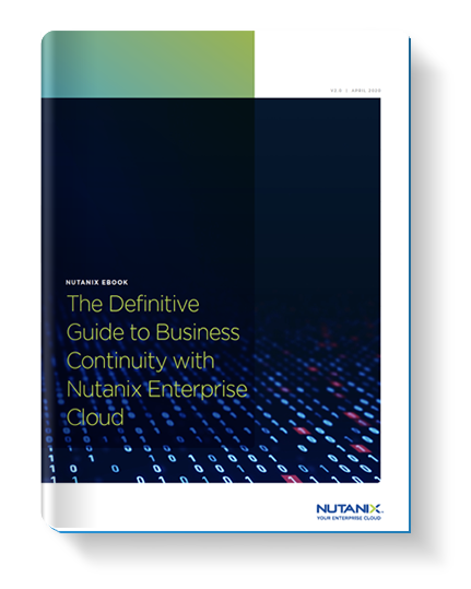 Definitive Guide: Data protection and disaster recovery on enterprise clouds