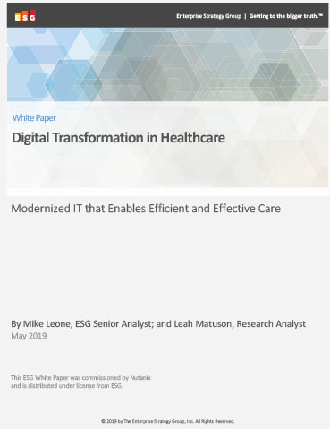 Healthcare IT is more complex now than ever before. The solution? Transforming out-of-date infrastructure.