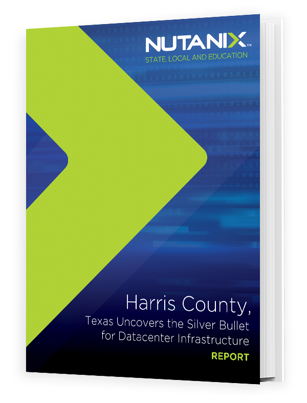 Harris County Uncovers the Silver Bullet for Datacenter Infrastructure