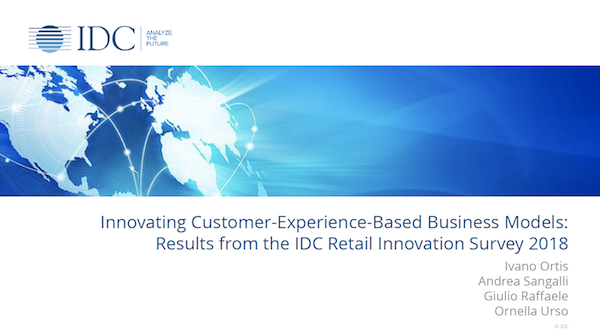 2018 IDC Retail Innovation Survey