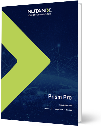 Prism Central and Prism Pro