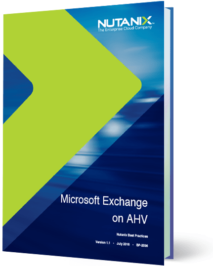 Microsoft Exchange on AHV