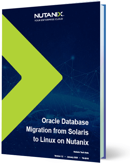 Oracle Database Migration from Solaris to Linux on Nutanix