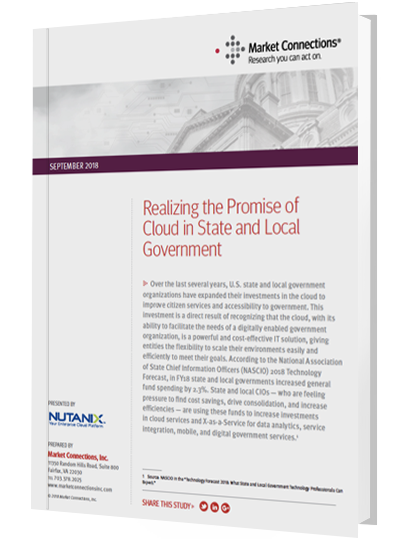 Realizing the Promise of Cloud in State and Local Government