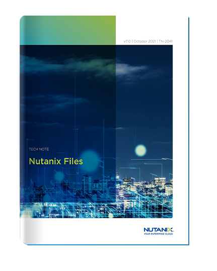 Nutanix Files