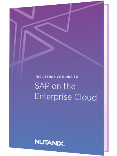 The Definitive Guide to SAP on the Enterprise Cloud