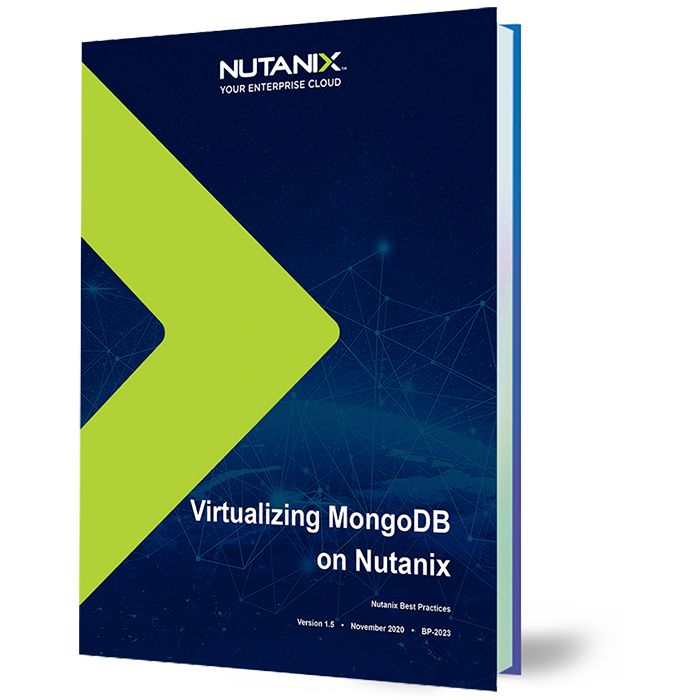 Virtualizing MongoDB on Nutanix