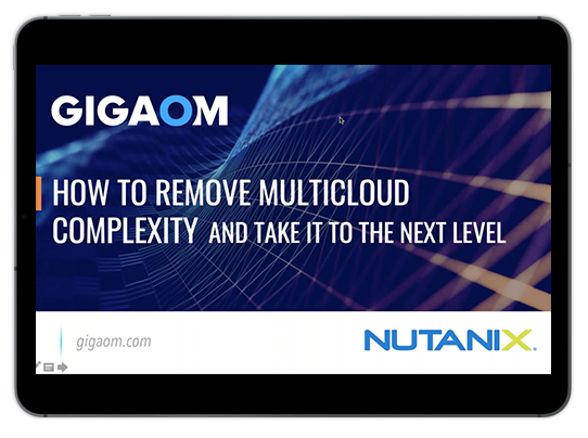 How to Remove Multicloud Complexity