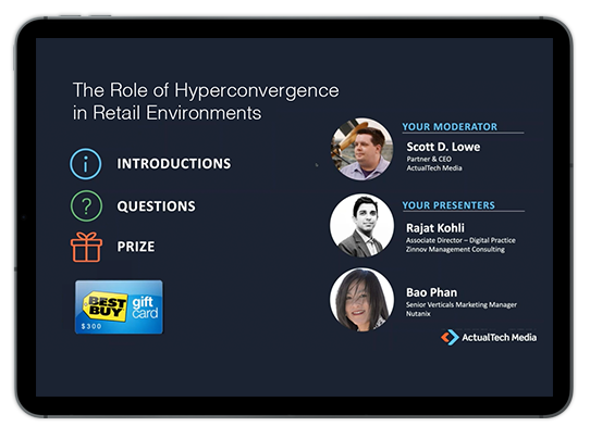 Role of Hypercovergence in Retail