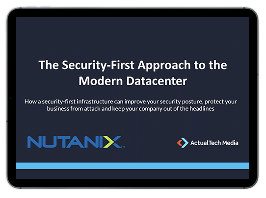 The Security-First Approach to the Modern Datacenter