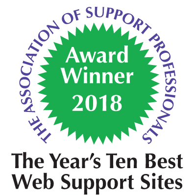The Year's Ten Best Web Support Sites