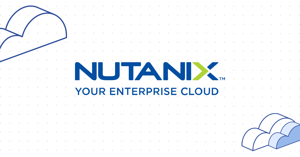 Nutanix Enterprise Cloud - Run Any Application at Any Scale