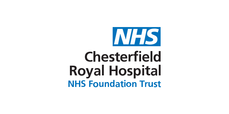 Logo da Chesterfield Royal Hospital