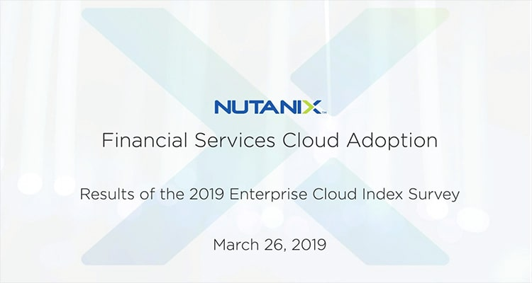 Cloud adoption has been on the rise in financial services as decision makers realize the efficiency, power and cost-effectiveness they can gain from the cloud. However, committing to one cloud model can be challenging.