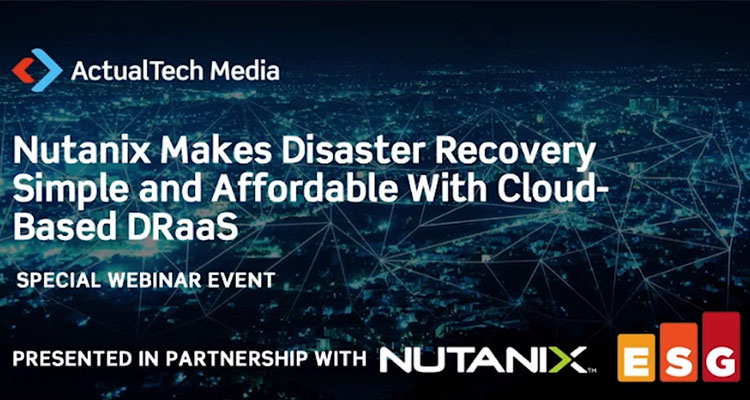 Learn how, with the right disaster recovery solution from Nutanix, you'll not only survive the pressure, but your business will be able to thrive!