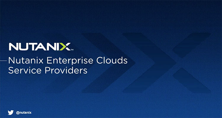 This technical session discusses why Nutanix products and solutions are the ideal fit for Service Providers building profitable and differentiated services. We will walk through real-world examples, demos, and more.