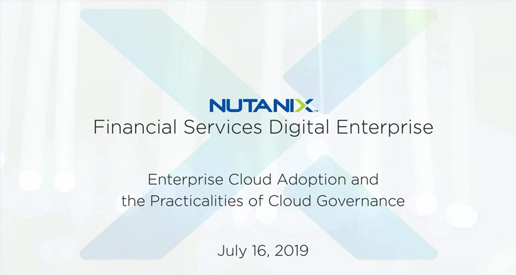 What cloud platforms are financial institutions adopting and what is needed to implement automated cloud security governance and compliance. This webinar answers those questions using survey data across 2300 IT decision makers from VasonBourne and through deep diving on Nutanix Xi Beam. Xi Beam lets Financial Institutions easily identify and fix cloud security vulnerabilities and cost leaks in multi-cloud environments. This educational event ensures you understand where the industry is heading and provides clarity on how to implement cloud governance.