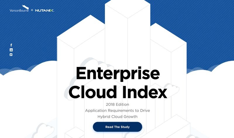 Nutanix Enterprise Cloud Index report